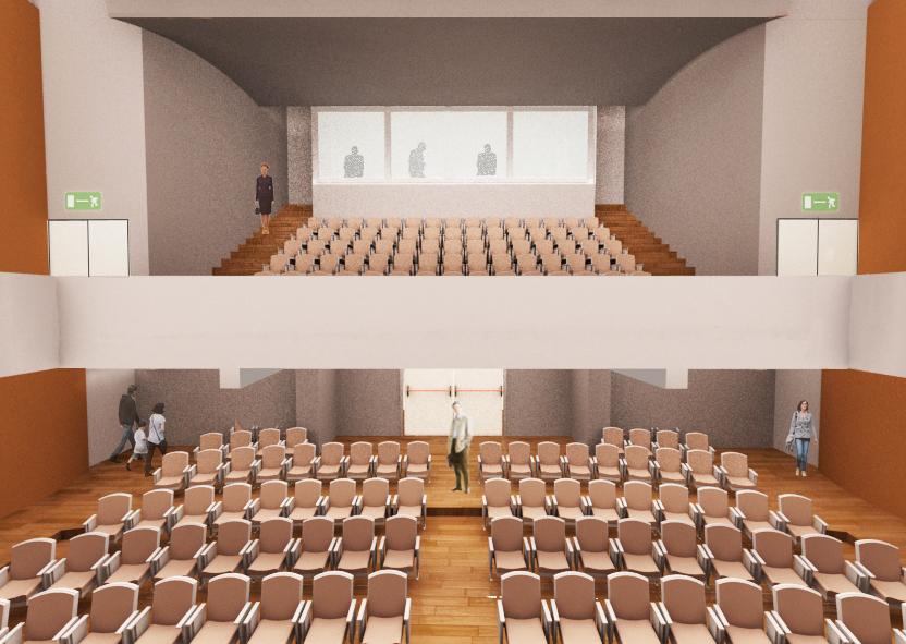 vista tribuna RISTRUTTURAZIONE AUDITORIUM: IL BANDO DELLA PROVINCIA