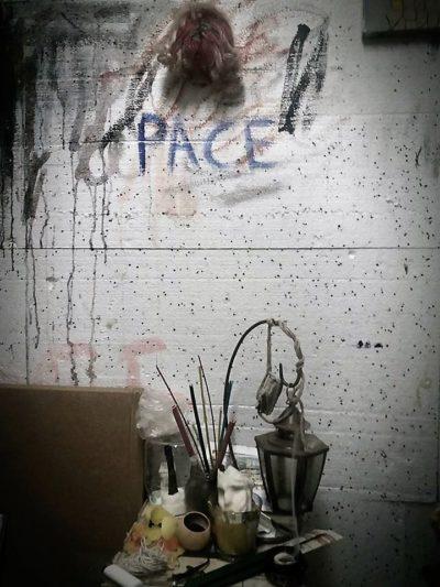 """Angoli dallo Studio   Angelo Coppola 1 e1528894229444 MARCIANISE, """"SPAZIO LIBERO"""" PRESENTA """"NERO INTEROTTO"""" PERSONALE DI ANGELO COPPOLA"""