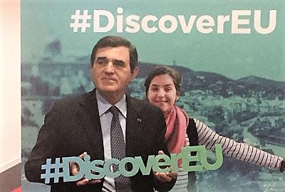 """DISCOVEREU """"DiscoverEU"""", AI DICIOTTENNI BIGLIETTI GRATIS PER L'EUROPA.  PATRICIELLO """"VIAGGIARE È IL MIGLIOR MODO PER RACCONTARE L'UE"""""""