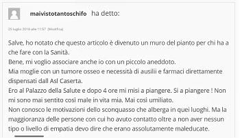 Immagine 9 OSPEDALE & ASL… CLASSE SENZA EGUALI… SENSIBILITÀ SENZA LIMITI