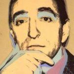 Lucio Amelio 1975 acrilico e serigrafia su tela cm. 105 x 105 150x150 IN MEMORIA DI LUCIO AMELIO...OGGI COME ALLORA