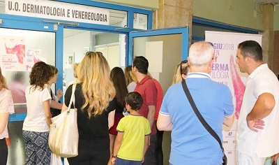 Open Day in Dermatologia OSPEDALE DI CASERTA, LA DERMATOLOGIA DEDICA SABATO 21 LUGLIO UN OPEN DAY AI TUMORI CUTANEI