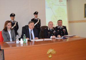 conferenza stampa New Opening 300x210 FUGGI DAI DOMICILIARI, ARRESTATA APPARTENENTE AL CLAN SPADA