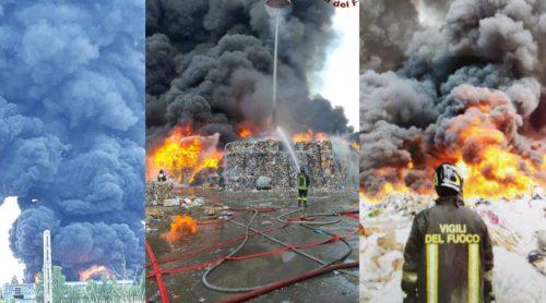 incendio e1532599557158 INCENDIO TRA CAIVANO E PASCAROLA, MESSINA: IL TERZO IN SETTE GIORNI...BISOGNA AGIRE ORA!