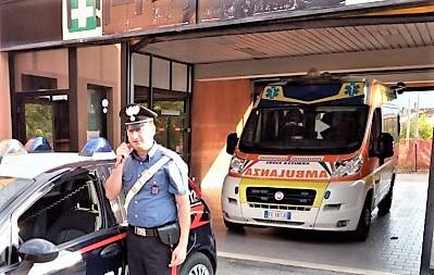 AMBULANZA CC SESTO CAMPANO: SOCCORSO GIOVANE BARRICATO IN CASA IN PREDA A CRISI NERVOSA