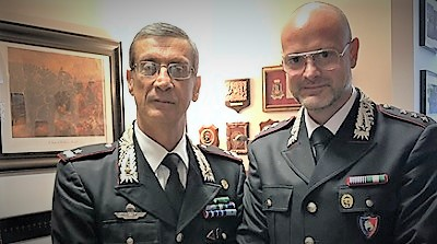 CC NOE VISITA DEL GENERALE FERLA AL NOE DI CASERTA