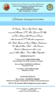 ISSR AREA CASERTANA Invito inaugurazione 179x300 INAUGURAZIONE DELL ISSR AREA CASERTANA IL 28 SETTEMBRE