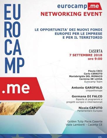 LOCANDINA CAPUTO NICOLA CAPUTO: IL 7 SETTEMBRE PARTE EUROCAMPTOUR