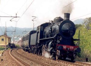 Locomotiva a vapore 300x219 PIETRELCINA, FONDAZIONE FS DONA CARRELLO PER TRASPORTO DISABILI