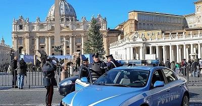 """POLIZIA VATICANO """"CELEBRAZIONI SAN MICHELE"""": LA POLIZIA DI STATO IN VATICANO PER ONORARE IL PATRONO"""