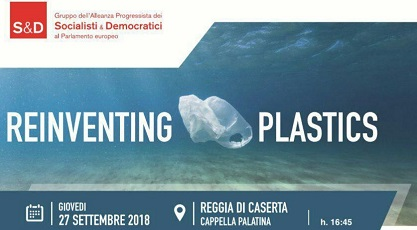 REINVENTING PLASTIC CASERTA 27 SEPT 2018 PLASTICA E AMBIENTE, A CASERTA VERTICE CON COMMISSARIO EUROPEO KARMENU VELLA
