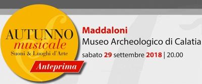 autunno musicale MADDALONI, ANTEPRIMA AUTUNNO MUSICALE 2018