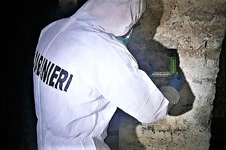 foto CC 2 AGNONE (IS): RINVENUTO IN UN CANTIERE TESCHIO DI NEONATO, SI INDAGA