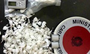 foto cocaina 1 300x182 SPACCIO DI DROGA DA SANTA MARIA CAPUA VETERE ALLA CAMPANIA, 72 ARRESTI
