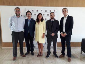 foto dopo Incontro presso la National Human Rights Council del Marocco 300x225 DUE MADDALONESI IN MAROCCO CON LA DELEGAZIONE ITALIANA PER I DIRITTI UMANI