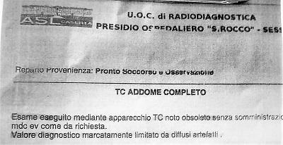 tac san rocco OSPEDALE SAN ROCCO…TAC CON RISERVA