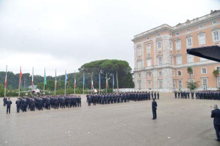 Cerimonia militare e1538408494681 AERONAUTICA MILITARE, CELEBRATI I 70 ANNI DALLA COSTITUZIONE DELLA SCUOLA SPECIALISTI