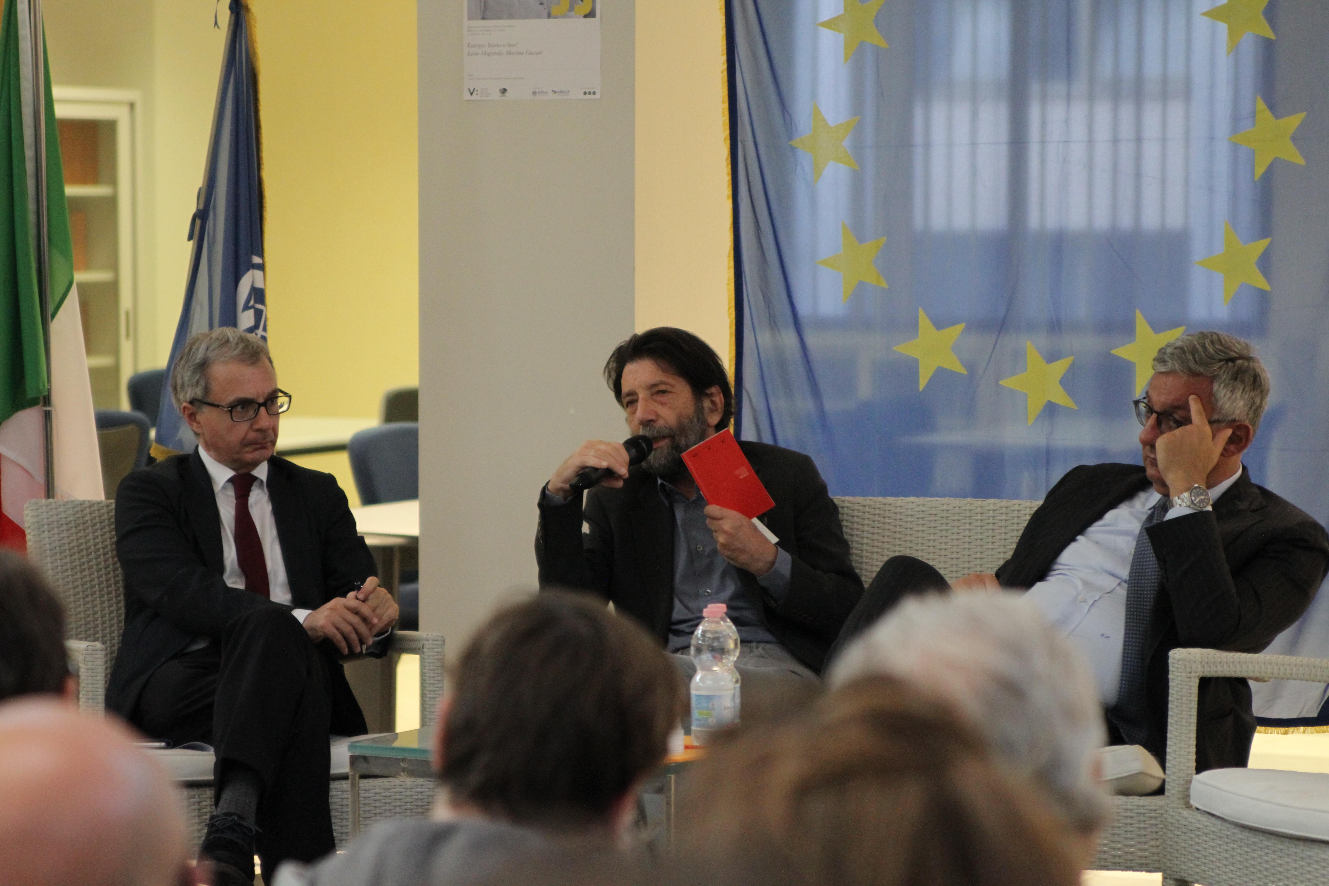 GFCG2741 EUROPA: INIZIO O FINE? LA LECTIO MAGISTRALIS CON MASSIMO CACCIARI, LA FOTOGALLERY