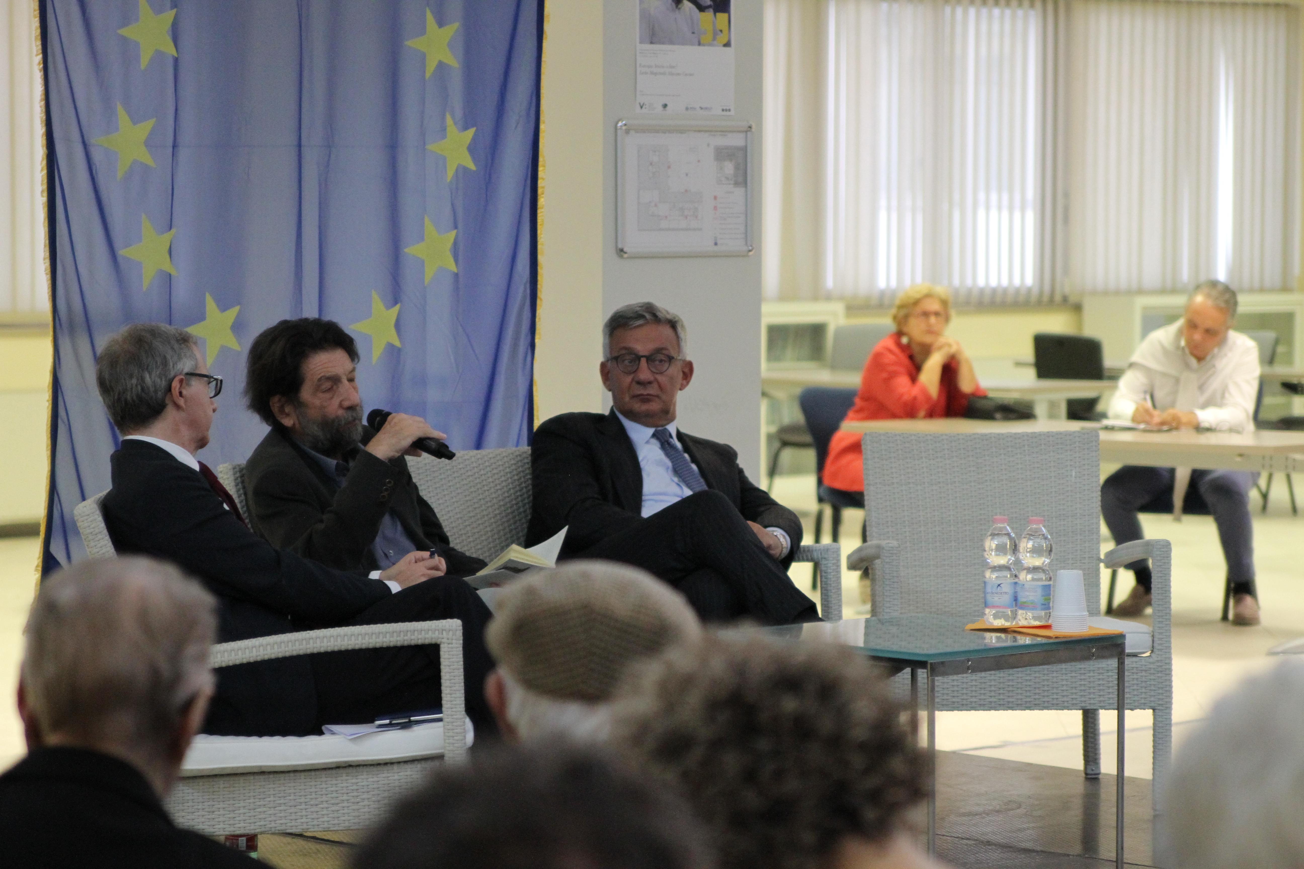 GFCG2744 EUROPA: INIZIO O FINE? LA LECTIO MAGISTRALIS CON MASSIMO CACCIARI, LA FOTOGALLERY