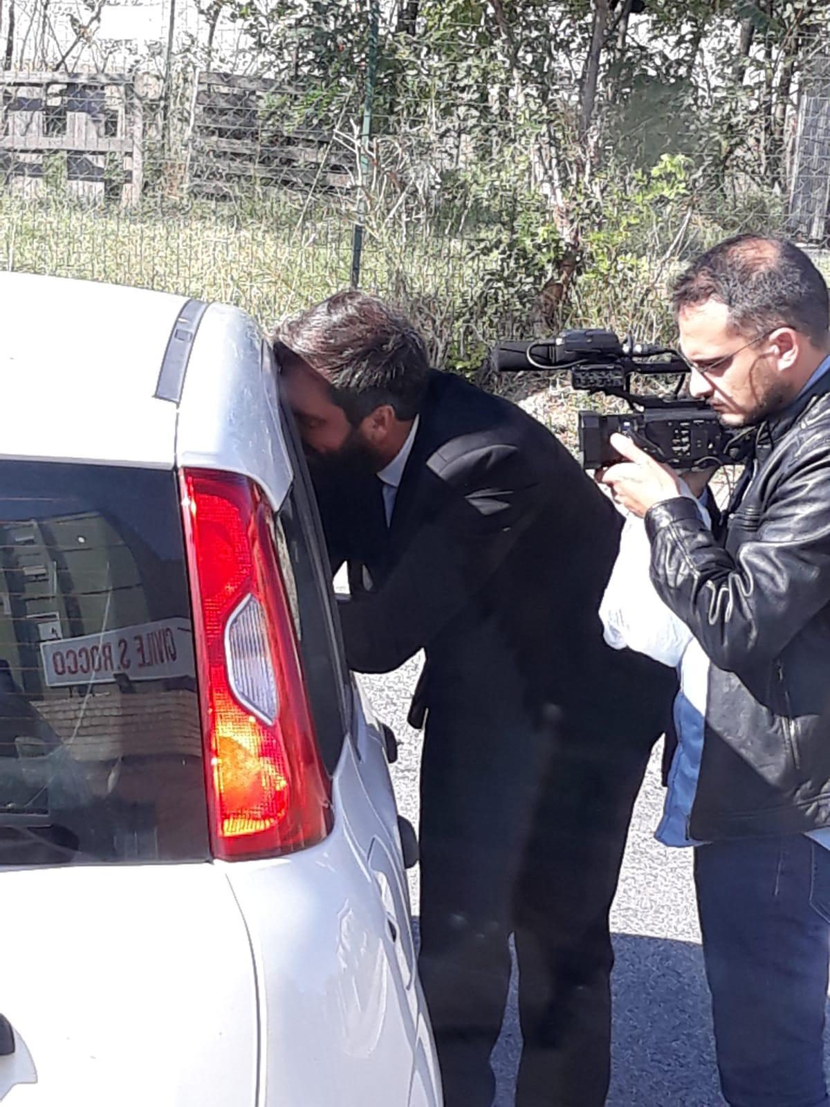 IMG 20181018 WA0002 FOTO NOTIZIA: SOTTO LA LENTE DE LE IENE IL SAN ROCCO DI SESSA AURUNCA