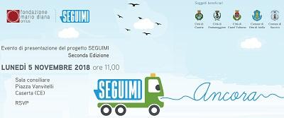 Invito presentazione progetto Seguimi 2018 SEGUIMI: LA FONDAZIONE DIANA PRESENTA IN COMUNE LA II EDIZIONE DEL PROGETTO DI RICICLO DEI RIFIUTI