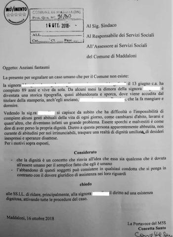 %name MADDALONI, LE TRE INTERPELLANZE DEL M5S