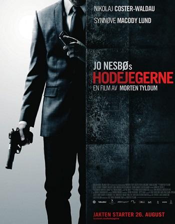 """headhunters 2011 movie poster JO NESBØ: QUANDO LA CARTA DIVENTA PELLICOLA (""""L'UOMO DI NEVE"""", """"HEADHUNTERS"""")"""