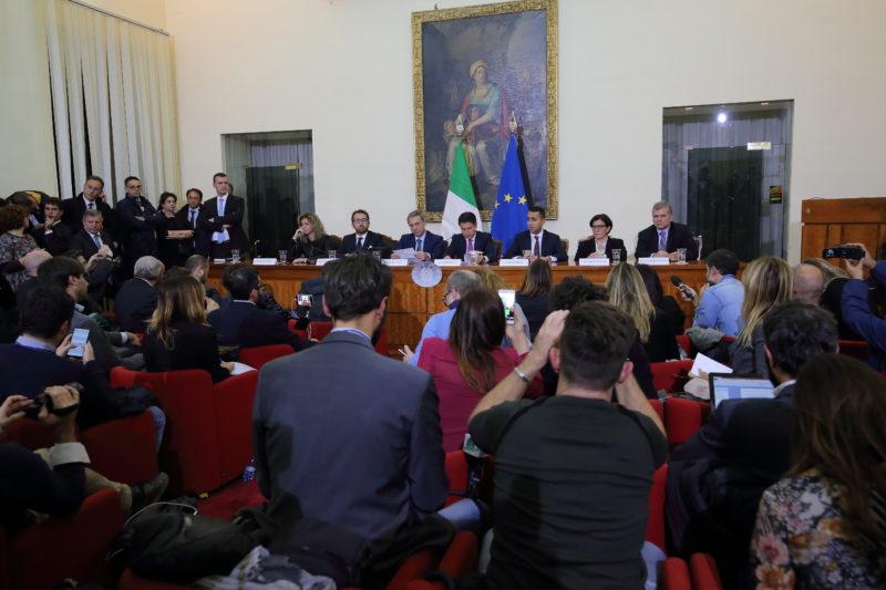 CONS. DEI MINISTRI216 IL CONSIGLIO DEI MINISTRI A CASERTA PER COMBATTERE LA TERRA DEI FUOCHI, LA FOTOGALLERY DELLEVENTO