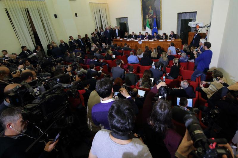 CONS. DEI MINISTRI239 IL CONSIGLIO DEI MINISTRI A CASERTA PER COMBATTERE LA TERRA DEI FUOCHI, LA FOTOGALLERY DELLEVENTO
