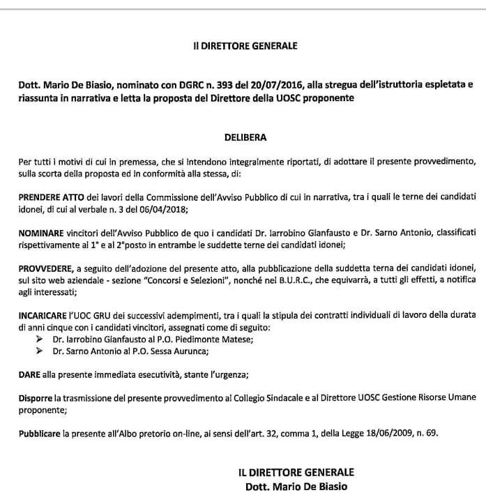 IMG 20181113 WA0010 GIUSTIZIA E STATA FATTA! IARROBINO E SARNO PRIMARI DI PIEDIMONTE E SESSA
