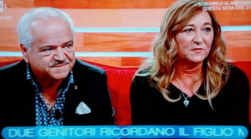 a foto Biagio Ciaramella ed Elena Ronzullo PROCESSO MORTE LUIGI CIARAMELLA, INIZIATA DEPOSIZIONE DELLINGEGNERE LIMA