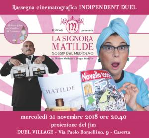 locandina La signora Matilde 300x278 LA SIGNORA MATILDE, SECONDO APPUNTAMENTO DI INDEPENDENT DUEL