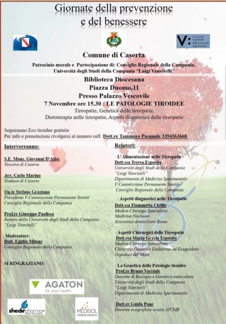 %name LE GIORNATE DELLA PREVENZIONE FANNO TAPPA A CASERTA, SCREENING GRATUITI