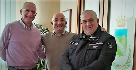 sindaco vito Marotta assessore Sortino assessore Bernardo LUCIO BERNARDO E IL NUOVO ASSESSORE ALLAMBIENTE E POLITICHE SOCIALI