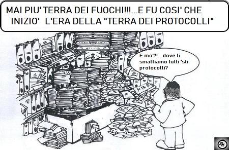 vignetta carte c RIFIUTI NELLA TERRA DEI PROTOCOLLI