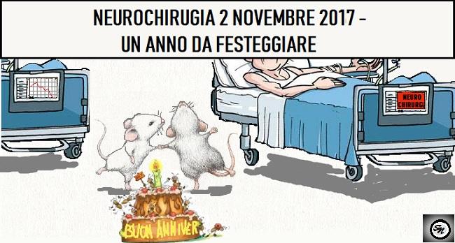 ANNIVERSARIO NEUROCHIRURGIA OSPEDALE, ANNIVERSARIO COL TOPO…