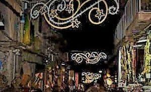 Accensione luminarie San Gregorio Armeno 8 2 300x183 MARIANO E GIUSTI CRITICANO LA CAMERA DI COMMERCIO PER LE INSTALLAZIONI DI LUMINARIE