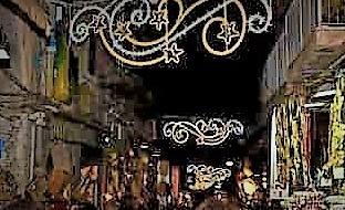 Accensione luminarie San Gregorio Armeno 8 2 DE MAGISTRIS: NAPOLI ESPLODE DI CULTURA E TURISMO