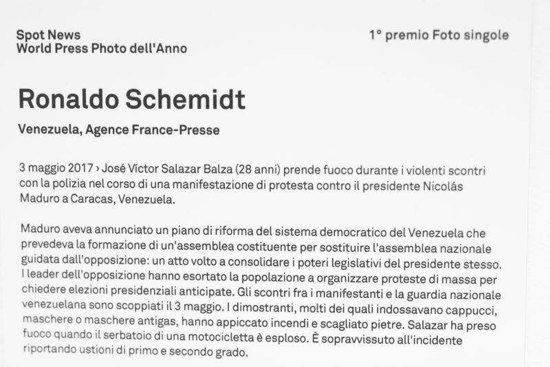 GFCG4312 WORLD PRESS PHOTO EXHIBITION LA MOSTRA DEL FOTOGIORNALISMO PIU IMPORTANTE DEL MONDO: LA FOTOGALLERY
