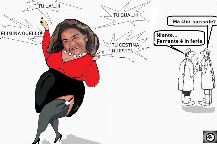 cuccut OSPEDALE, COME FERRANTE CREA, SICILIANO DISTRUGGE…