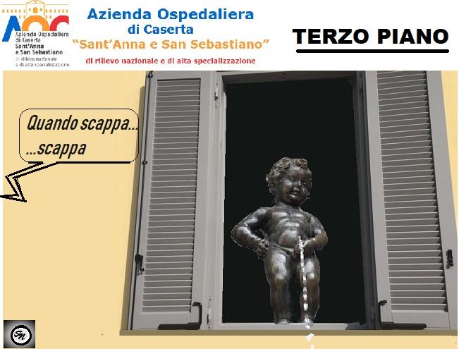 finestra 13.12.18 OSPEDALE, MANNEKEN PIS AL TERZO PIANO