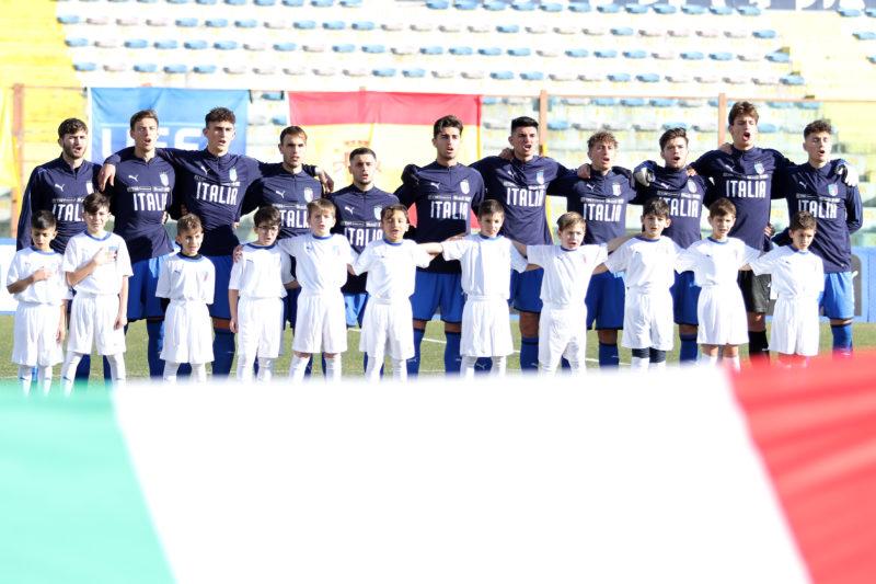 687A8832 1 GLI AZZURRINI INCANTANO IL PINTO, ITALIA   SPAGNA U19 3 0 LA FOTOGALLERY DELLA GARA