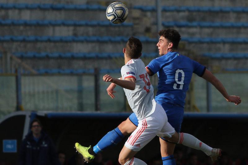 687A8866 GLI AZZURRINI INCANTANO IL PINTO, ITALIA   SPAGNA U19 3 0 LA FOTOGALLERY DELLA GARA