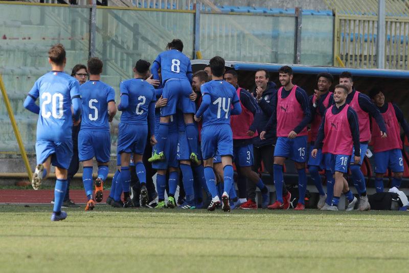 687A8885 GLI AZZURRINI INCANTANO IL PINTO, ITALIA   SPAGNA U19 3 0 LA FOTOGALLERY DELLA GARA