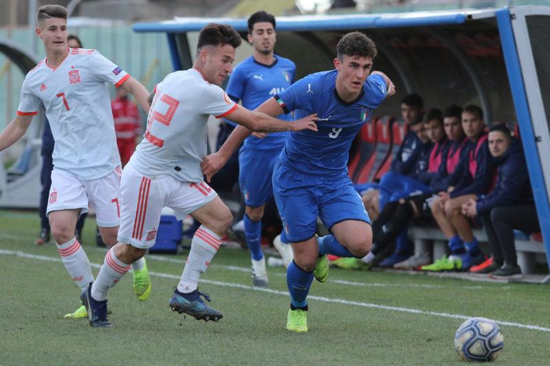 687A8911 GLI AZZURRINI INCANTANO IL PINTO, ITALIA   SPAGNA U19 3 0 LA FOTOGALLERY DELLA GARA
