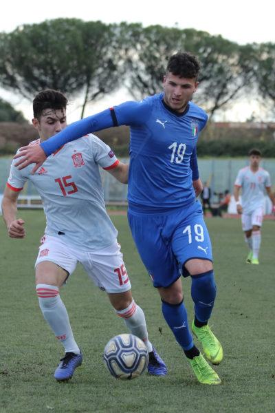 687A8941 GLI AZZURRINI INCANTANO IL PINTO, ITALIA   SPAGNA U19 3 0 LA FOTOGALLERY DELLA GARA