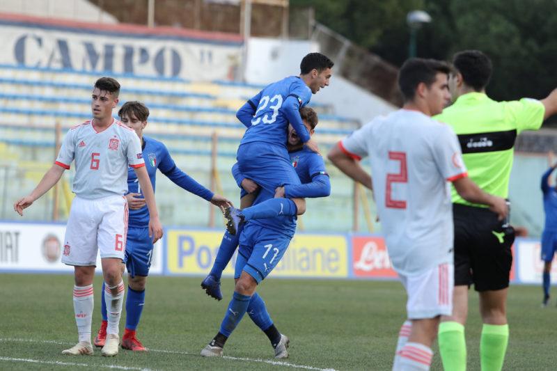 687A8949 GLI AZZURRINI INCANTANO IL PINTO, ITALIA   SPAGNA U19 3 0 LA FOTOGALLERY DELLA GARA