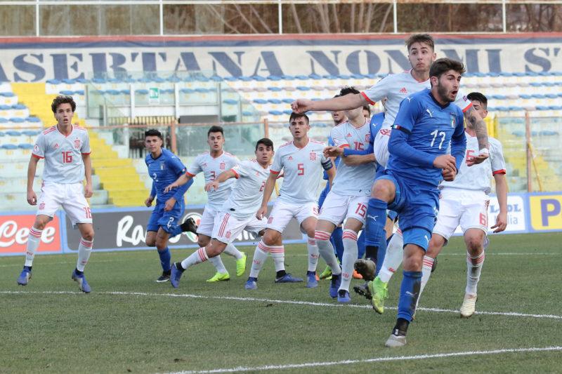 687A8971 GLI AZZURRINI INCANTANO IL PINTO, ITALIA   SPAGNA U19 3 0 LA FOTOGALLERY DELLA GARA