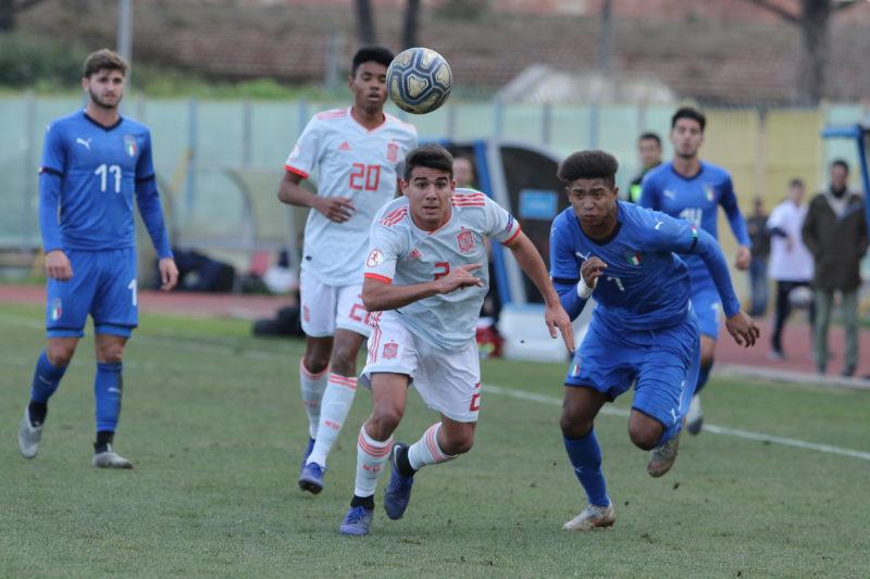 687A8979 GLI AZZURRINI INCANTANO IL PINTO, ITALIA   SPAGNA U19 3 0 LA FOTOGALLERY DELLA GARA