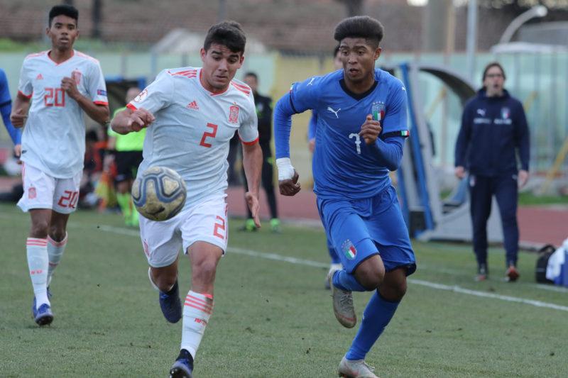 687A8981 GLI AZZURRINI INCANTANO IL PINTO, ITALIA   SPAGNA U19 3 0 LA FOTOGALLERY DELLA GARA